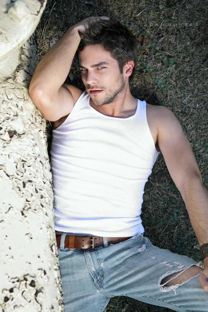 Brant Daugherty's Official Blog: Adam Bouska Comp Card Shoot